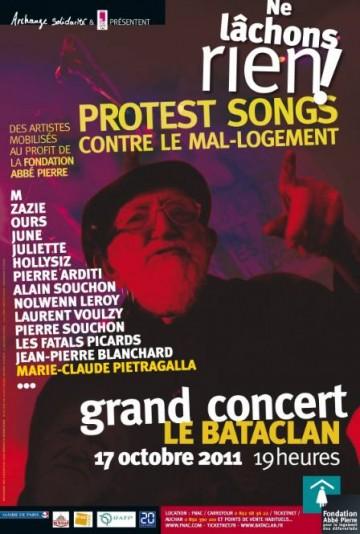 Concert au Bataclan le 17 Octobre 2011