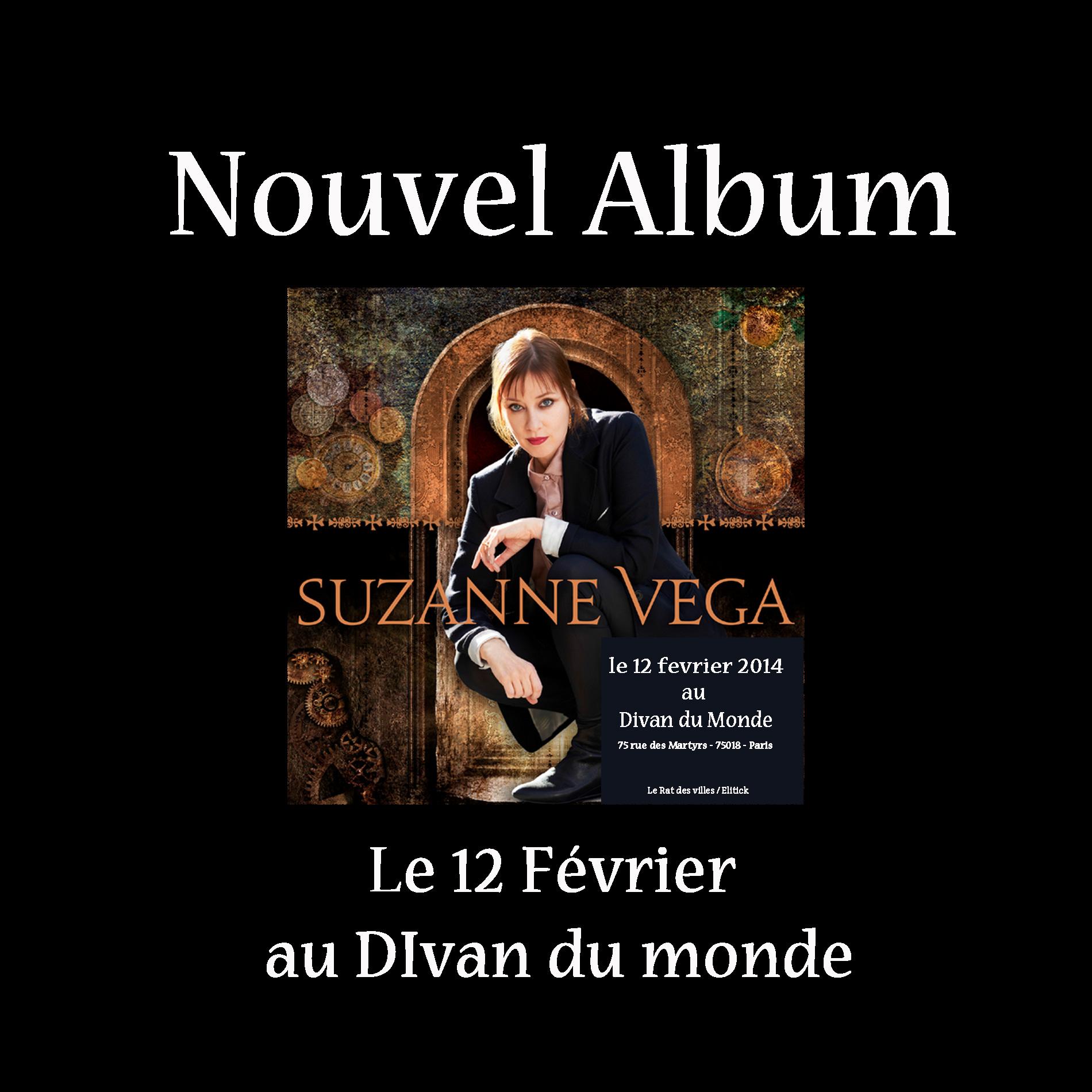 Suzanne vega un nouvel album et un concert au divan du for Divan le terrible lucien