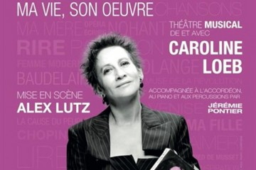 Affiche-george-sand-caroline-loeb-la-parizienne