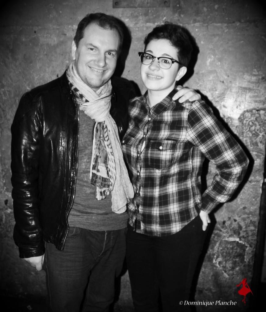 David Fargier (Vents d'Orage) et Emma Oscar (Nouvelle Star 2015)