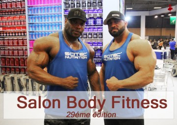 Sport la parizienne for Salon du fitness palexpo