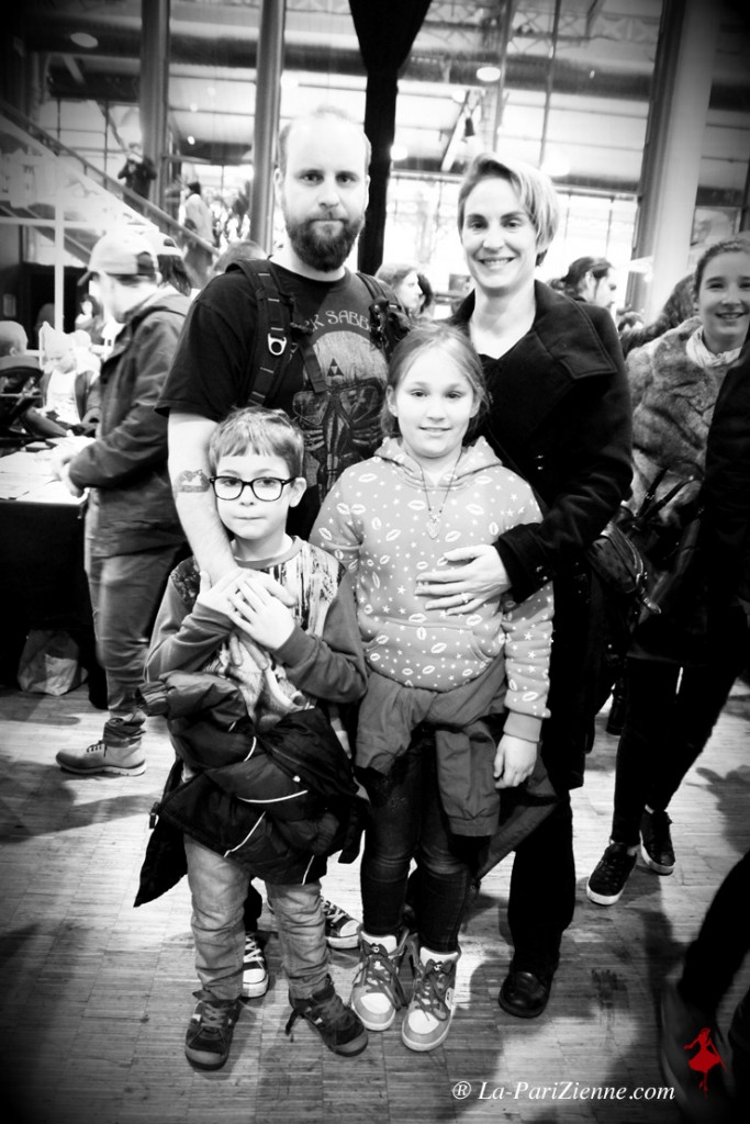 Lucas 7 ans, Elise 10 ans et leurs parents