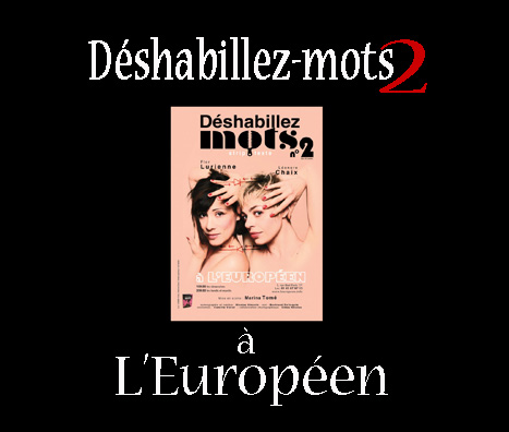 Affiche-Deshabillez-mots2-europeen-laparizienne-com